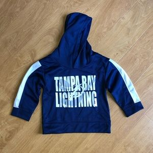 Boys 2T Tampa Bay Lightning Pullover